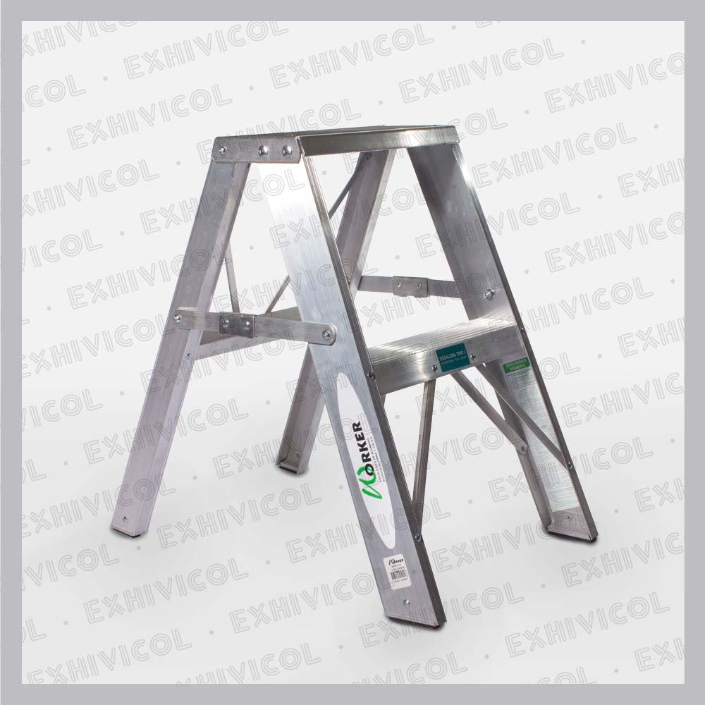 Escalera en aluminio emma 2 for Escalera aluminio pequena