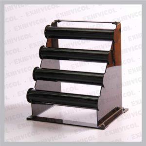 Acrilico mostrador pulsera 4 servicios