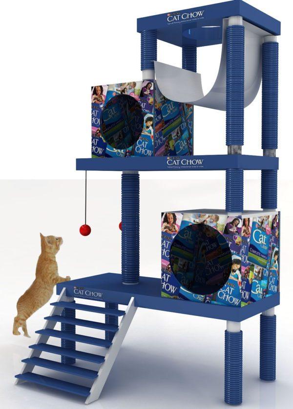 gimnacio para gatos