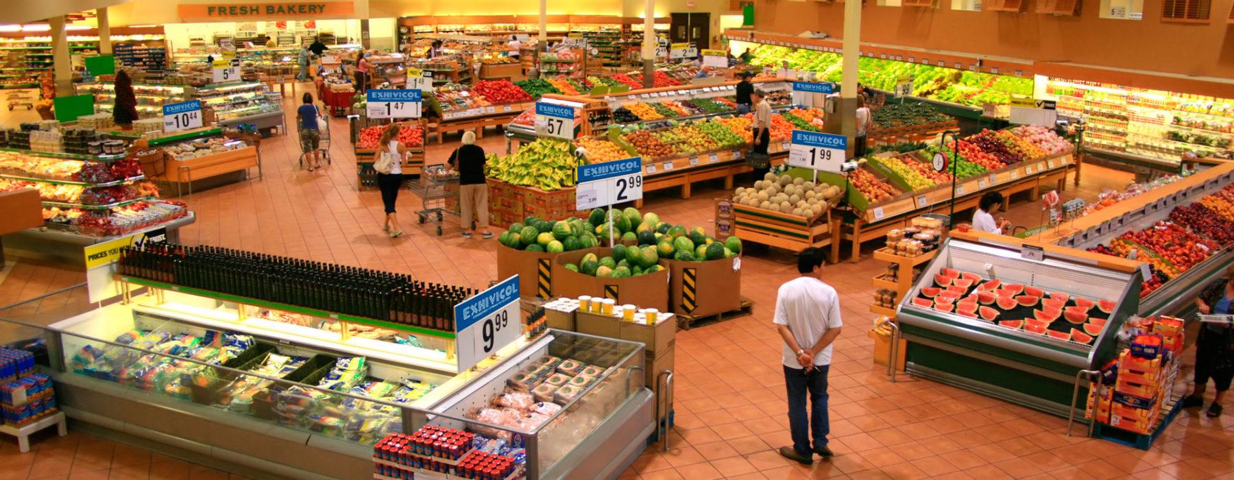 Encuentra todo para supermercados.