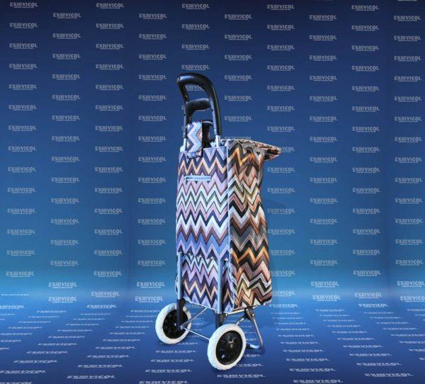 Carro con bolsa de lona