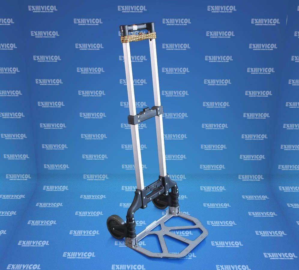 Carro maletero plegable de aluminio ref 20153 - Carro plegable aluminio ...