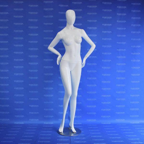 Maniquí dama brazo cintura androide