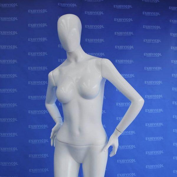 Maniquí dama brazo cintura androide 2