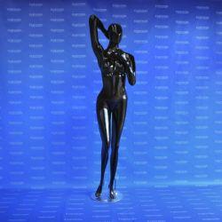 Maniquí dama brazo arriba androide