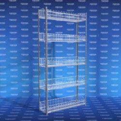 estanteria metalica 5 canasta