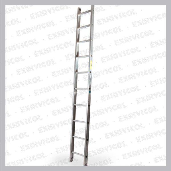 Escalera aluminio tipo pared