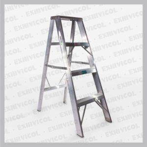 Escalera aluminio tipo tijera emma 4 pasos