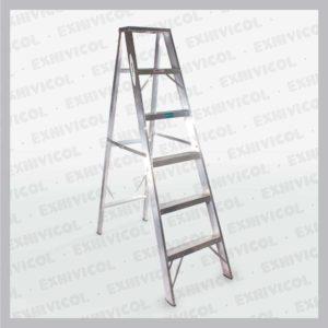 Escalera aluminio tipo tijera emma 6 pasos