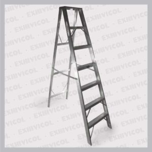 Escalera aluminio tipo tijera emma 7 pasos