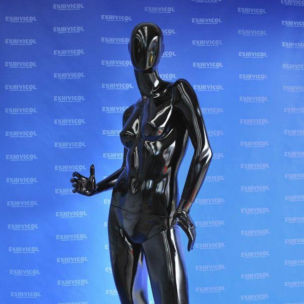 Maniquí dama brazos cadera androide