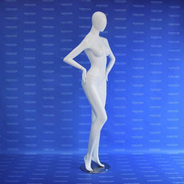 Maniquí dama brazo cintura androide 3