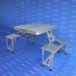 Mesa picnic plegable aluminio