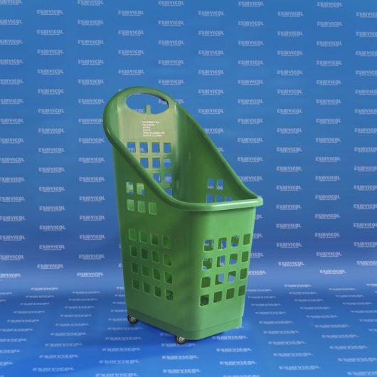 Carro canasta plástico