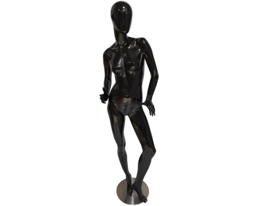 Maniquí androide con pose sexy de color Negro